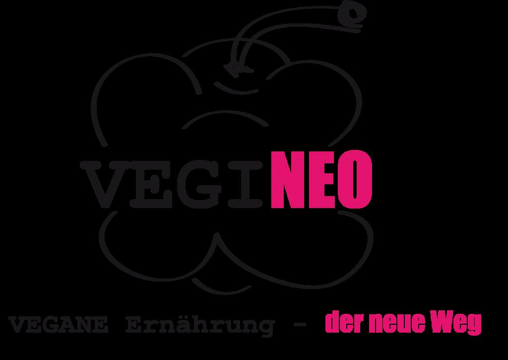 VEGINEO - Logo mit Slogan